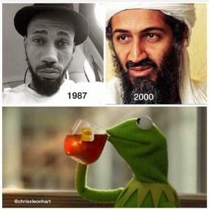 See The Striking Resemblance between Phyno and Osama Bin Landen